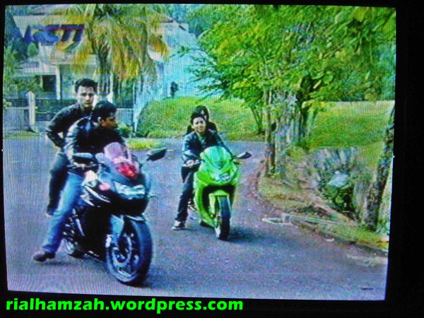 Blogger Sibuk teriakan Safe in Riding, Tetapi film