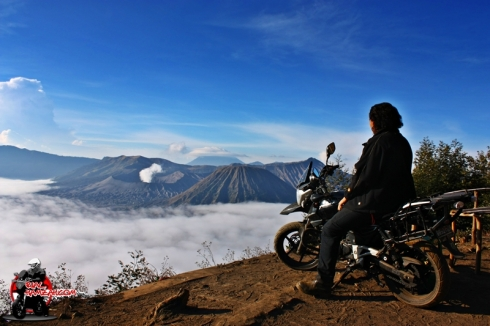 top of the top Bromo