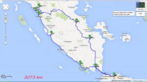 maps sumatra