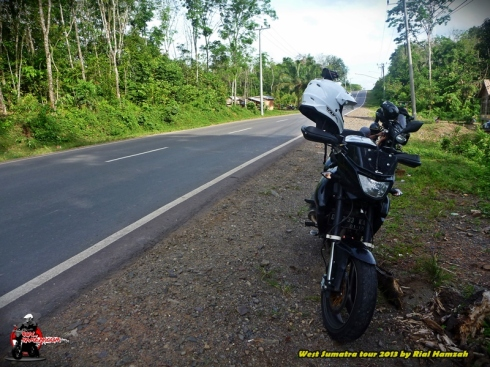 pulsar 250 road to jambi